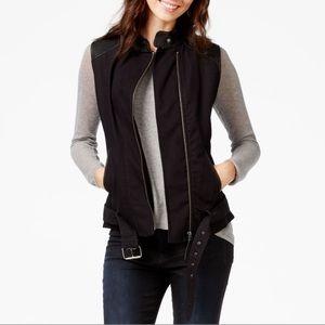 Moto Goat leather vest